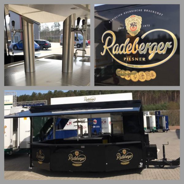 Radeberger Ausschankwagen