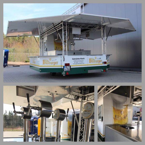 Bitburger KL-K 256 Ausschankwagen